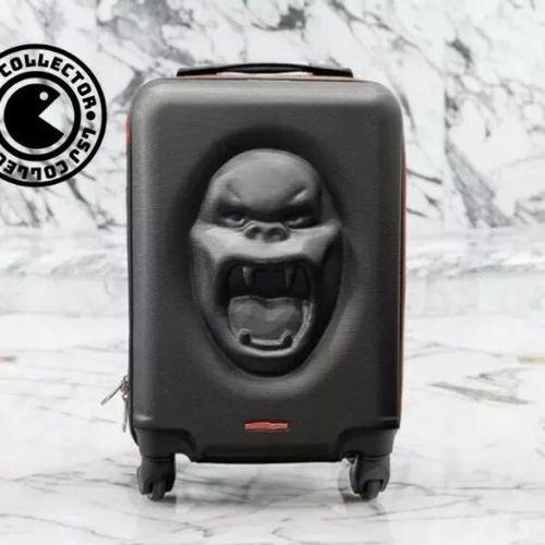 Richard Orlinski Kong Kase suitcase, 2020  Limited Edition  The Kong Kase suitca…