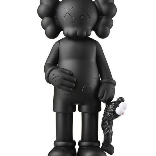 KAWS Share (Black)  Comapnion painted vinyl sculpture.  Open edition.  H31 cm