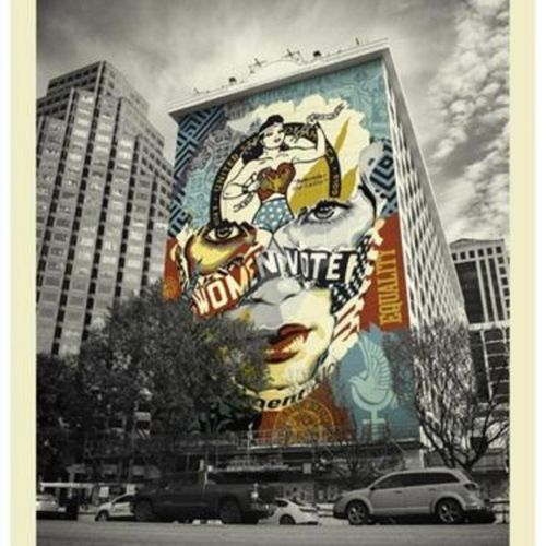 SHEPARD FAIREY & SANDRA CHEVRIER The Beauty Of Liberty And Equality,2020  Silksc…