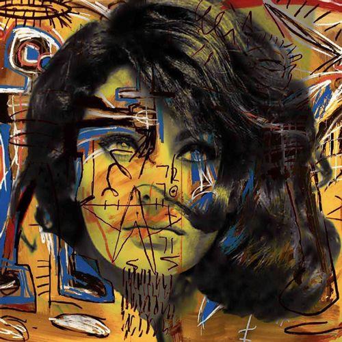 ROMANE JONCOEUR ( NÉ EN 1981) Sophia Loren, 2021  Impression sur verre acrylique…