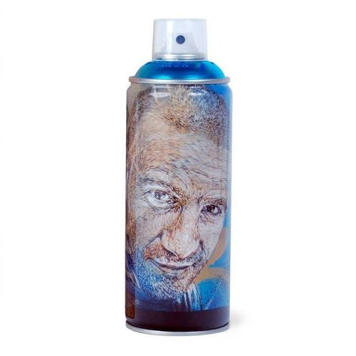 C215 Techniques mixtes Print on Spray Can  C215 (Christian Guemy) Spray Can et B…
