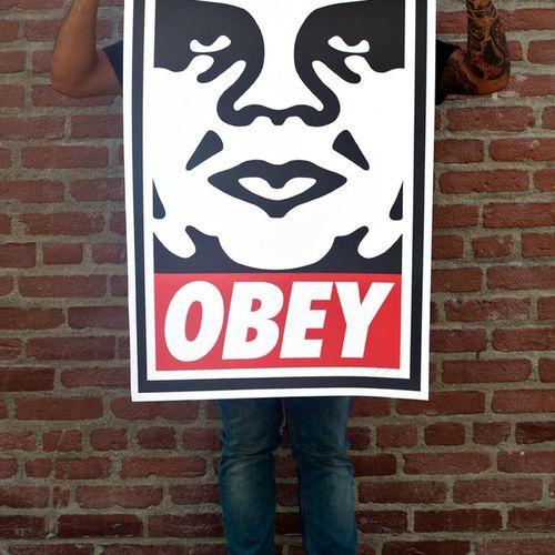Shepard FAIREY Obey Icon, 2019  91 x 60 cm. Lithographie offset sur papier blanc…