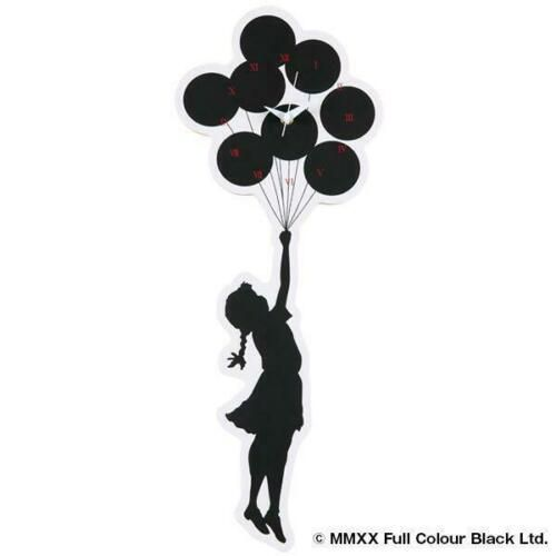 BANKSY Sync.×BRANDALISM Horloge Flying baloon girl  Size : H 53.5cm×L 20.7cm  En…