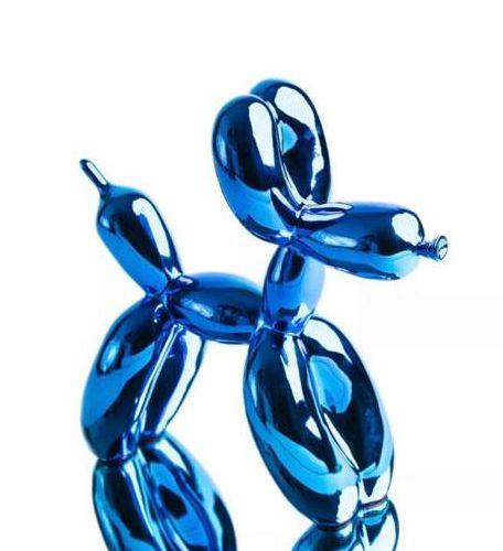 Jeff KOONS (d'après) Jeff Koons (d'après)    balloon Dog (Blue)    COA par Editi…