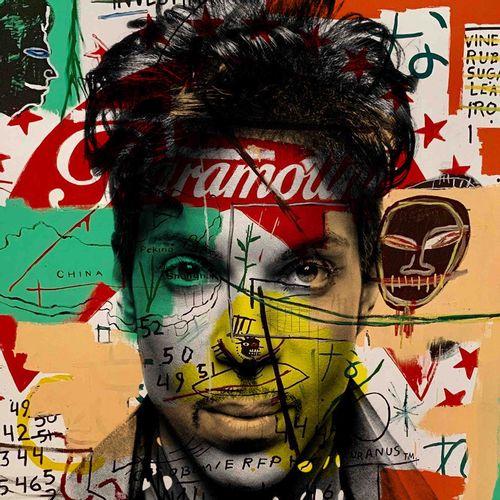 ROMANE JONCOEUR ( NÉ EN 1981) Prince, 2020  Impression sur verre acrylique contr…