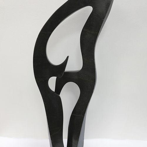 Sculpture contemporaine Shona Sculpture contemporaine Shona  Serpentine foncé pa…