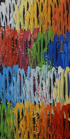 SEEN ( Né en 1961) Richard Mirando dit Seen (Né en 1961)  Multi tags Série, 2021…