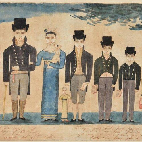 Irish School (C.1816) Irish School (c.1816) William Winter and his family Pen, i…
