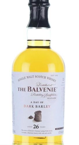 The Balvenie 26 Year Old ' A day of Dark Barley' The Balvenie 26 Year Old ' A da…