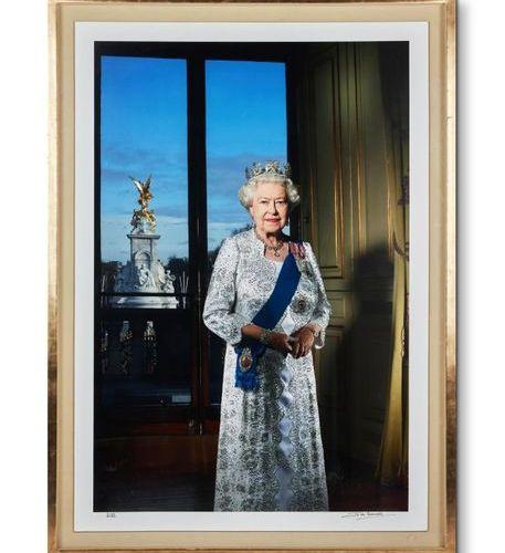 Λ JOHN SWANNELL (BRITISH B. 1946), HM QUEEN ELIZABETH II'S DIAMOND JUBILEE, 2012…