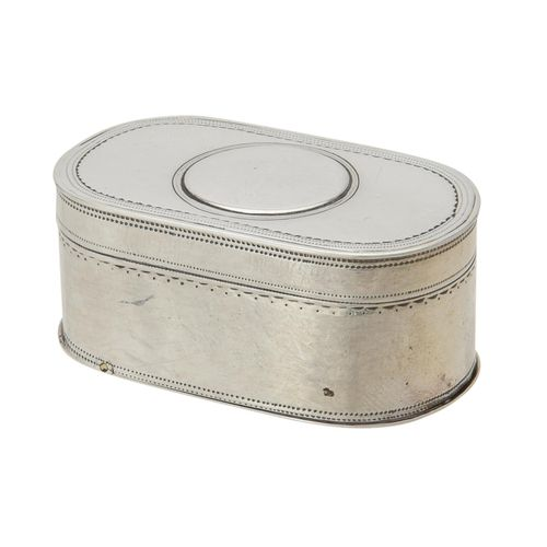 A George III double sided snuff box by Robert Burton A George III double sided s…