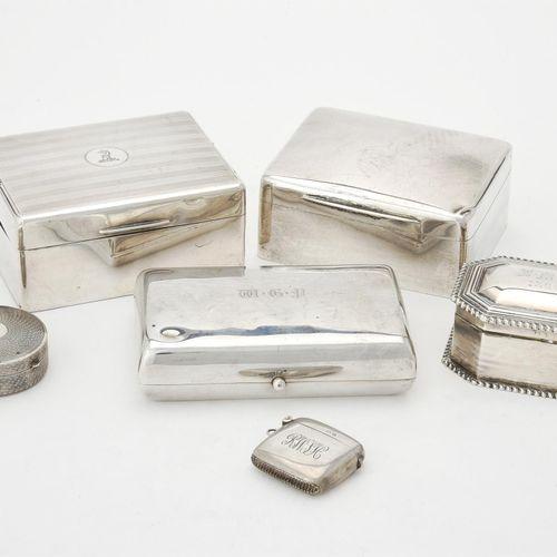 A late Victorian silver cigarette case A late Victorian silver cigarette case, m…