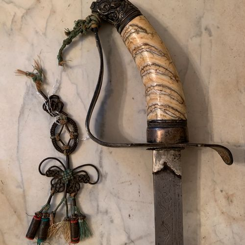 Indochina, court of Hué, 19th century.  Annamite mandarin sword.  The blade (len…