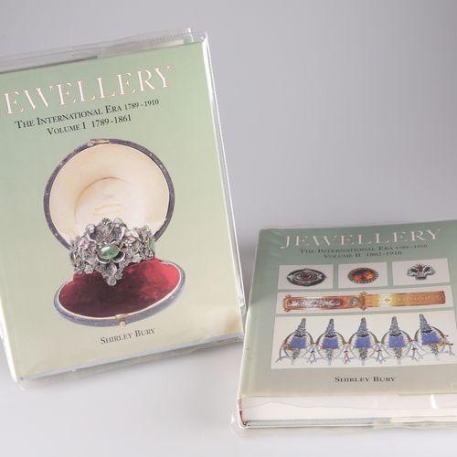 BURY (SHIRLEY), JEWELLERY, THE INTERNATIONAL ERA 1789 1910, vols. 1 & 2, pub. AC…