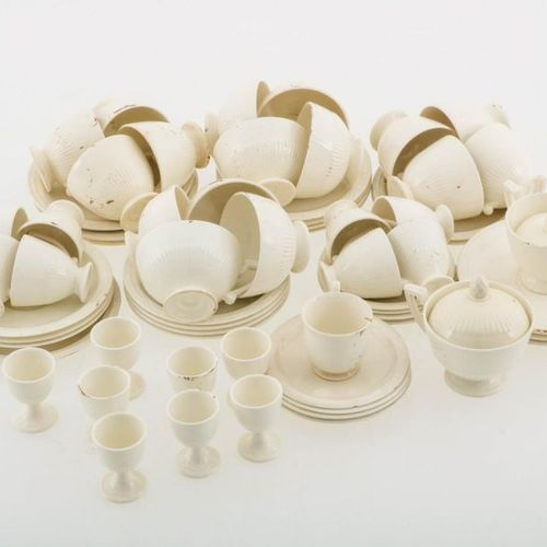 A lot of various coffee and tea service parts, Holland, 20th century. Including …