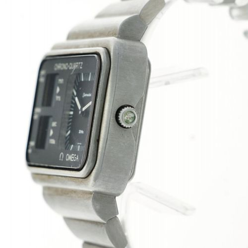 Omega Seamaster Chrono Quartz Men's Watch appr. 1976 表壳: 钢 表带: 钢 石英 (良好) 直径: 47 …
