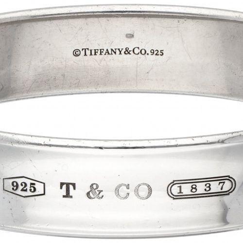 Silver Tiffany & Co. Bangle bracelet 925/1000. Poinçons : © Tiffany & Co, 925, T…