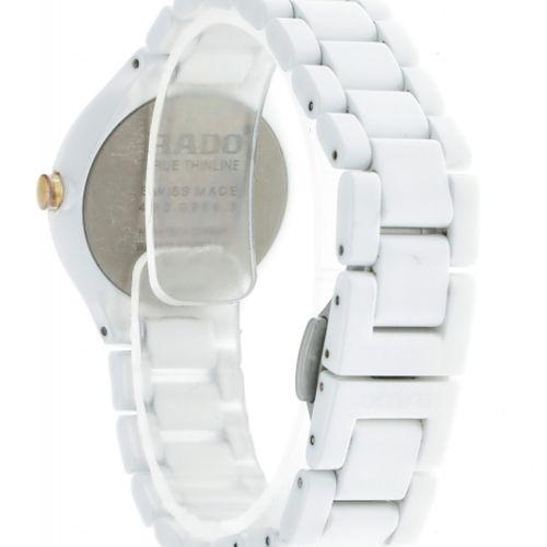 Rado True Thinline 420.0958.3 Ladies watch approx. 2010. Boîtier : céramique bra…