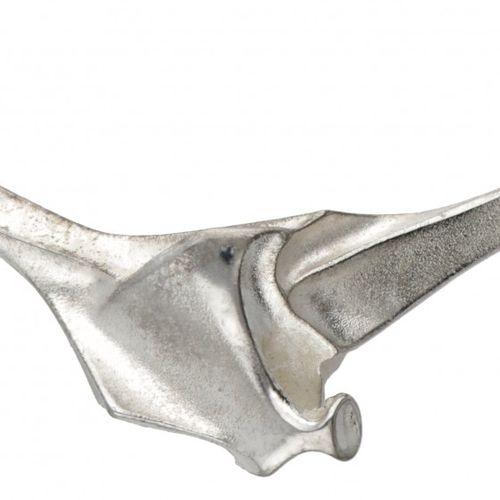 Björn Weckström for Lapponia silver design necklace 925/1000. 印记:925,芬兰国家标志,拉波尼亚…