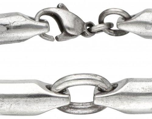 Hans Hansen for Georg Jensen heavy silver bracelet 925/1000. 印章。Georg Jensen 194…