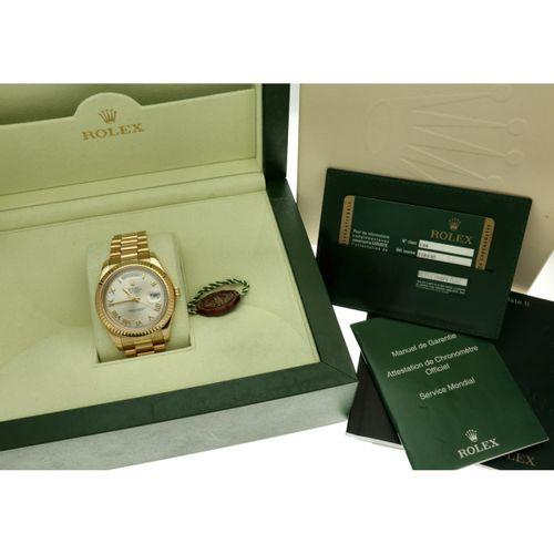 Rolex Day Date 218238 Men's watch apprx. 2011. 表壳: 黄金(18K) 表带: 黄金(18K) 自动上链 全套 状…