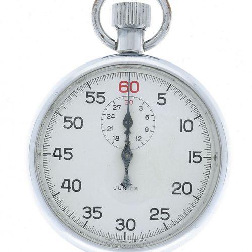 Stopwatch appr. 1965. Boîtier : acier remontage manuel état : moyen diamètre : 5…