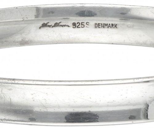 Silver Hans Hansen bangle bracelet 925/1000. Poinçons : Hans Hansen (Kolding 195…