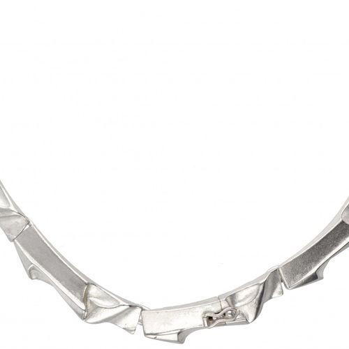 Modernist silver Lapponia necklace 925/1000. Avec un clip de sécurité. Poinçons …