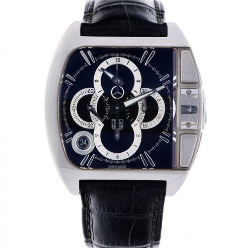 Tag Heuer SLR CAD 5110 0 Men's watch ca. 2013 boîtier : acier bracelet : cuir au…