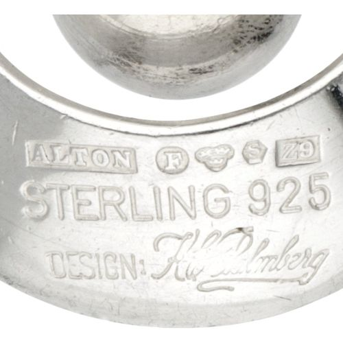 K.E. Palmberg for Alton silver pendant 925/1000. Poinçons : Alton, marque de vil…
