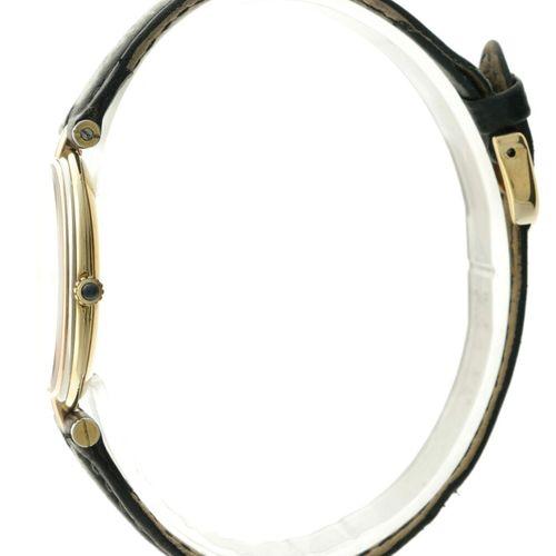 Cartier Vendome Trinity 881003 Unisex watch apprx. 1990. 表壳:金(18K) 表带:皮革 石英 状态:良…