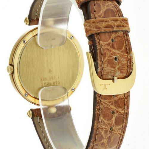 Jaeger LeCoultre 140.152.1 Men's watch apprx. 2000. 表壳: 黄金(18K) 表带: 皮革 石英 状态: 非常…