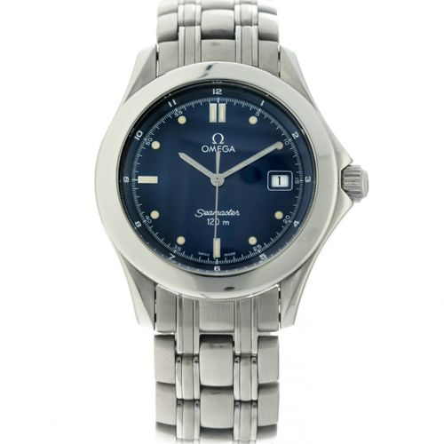 Omega Seamaster 120m 196 1501 Men's Watch appr. 1993. Boîtier : acier bracelet :…
