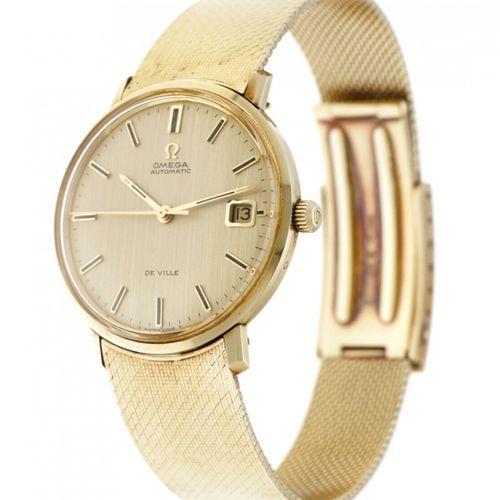 Omega de Ville 166.033 Men's watch apprx. 1974. Boîte : or jaune (14 kt.) bracel…