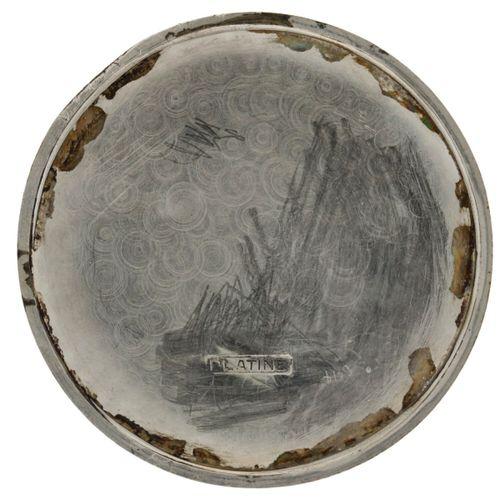 Tissot Lever Escapement Men's pocket watch apprx. 1920. 表壳: 铂金(Pt 950) 手动上链 状态: …