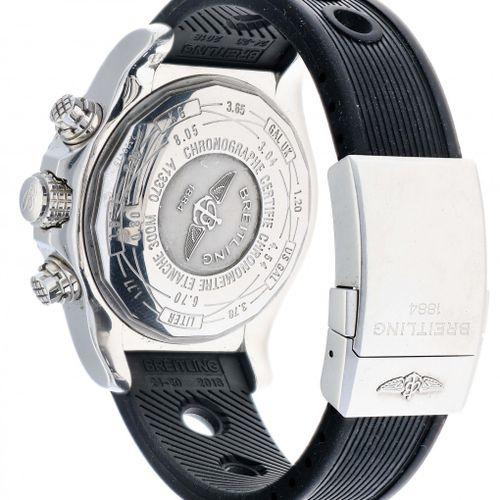 Breitling Super Avenger A13370 Men's watch appr. 2010 材质:钢 表带:橡胶 自动上链 日期、计时码表 最近…