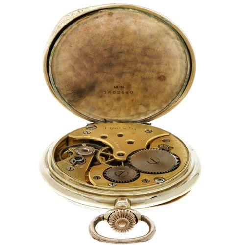 Omega Lever Escapement Men's pocket watch apprx. 1930. 表壳:黄金(14K) 手动上链 状态:良好 直径:…