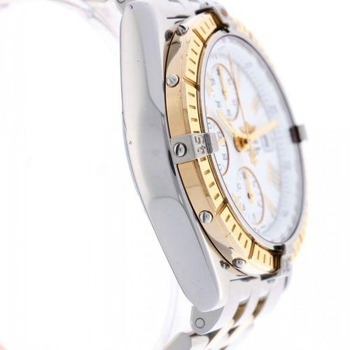 Breitling Crosswind D13055 Men's watch ca. 2005 表壳:金/钢 表带:金/钢 自动上链 日期,计时器,测速仪 1(…