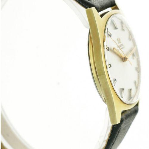 Omega Geneve Automatic 166.041 Men's Watch appr. 1970. 表壳: 金/钢 表带: 皮革 自动上链 非常好 直…