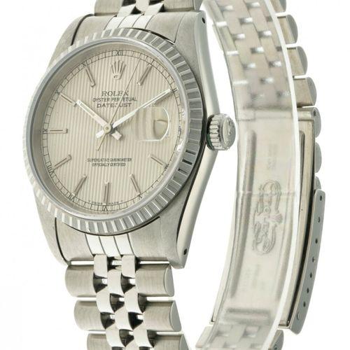 Rolex Datejust Tapestry 16220 Men's watch apprx. 1988. 表壳: 钢 表带: 钢 自动上链 最近一次保养: …