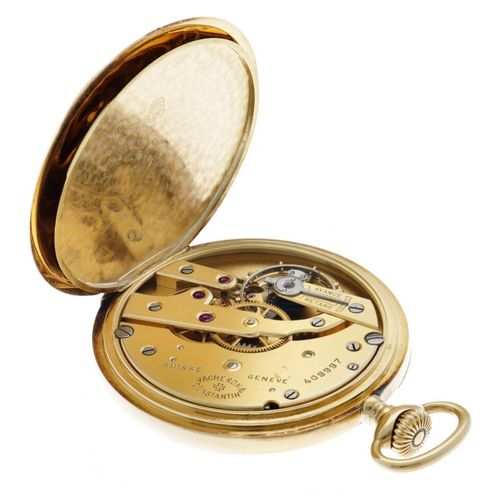 Vacheron Constantin Lever Escapement Men's pocket watch appr. 1900. 表壳: 黄金(18K) …