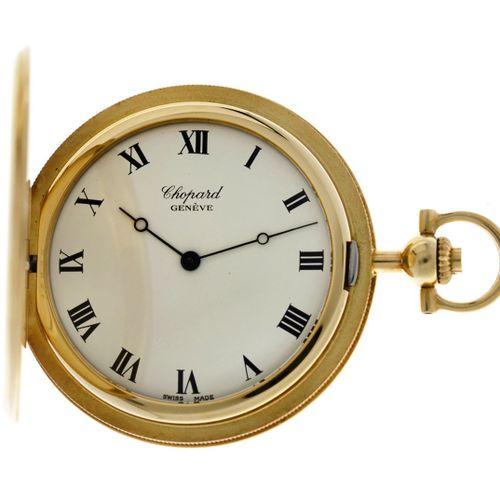 Chopard Savonette 3014 Men's pocket watch apprx. 1990. 表壳:黄金(18K) 手动上链 直径:41毫米 树…