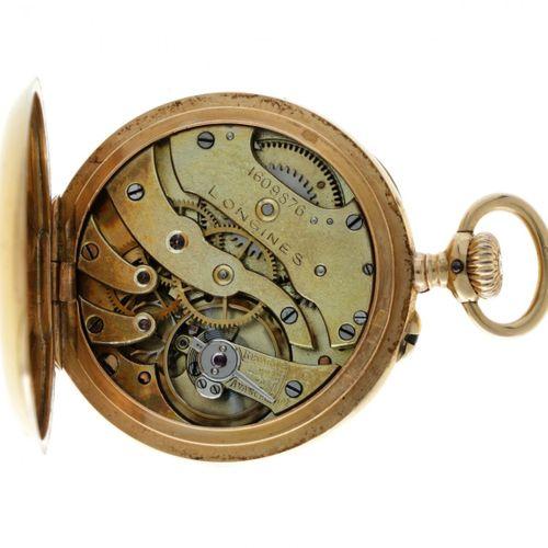 Longines Lever Escapement Ladies pocket watch apprx. 1878. 表壳:黄金(18K) 手动上链 状态:良好…