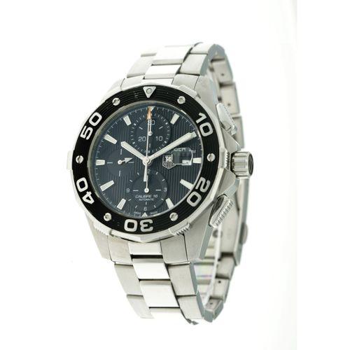 Tag Heuer Aquaracer 500m CAJ2110 Men's watch 2011. 表壳: 钢 表带: 钢 自动机 全套 最后一次保养:201…