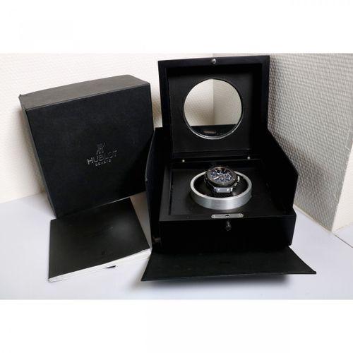 Hublot Big Bang 342.CX.130.RX Men's watch ca. 2014 表壳: 陶瓷/钛合金 表带: 橡胶 自动上链 日期, 计时…