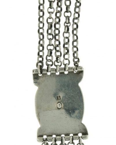 Chatelaine chain for pocket watch silver. 执行5行,并焊接有水果篮的卡图。荷兰,Gorinchem,Daniel Wi…