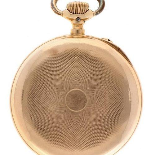 Pocket watch IWC gold Men's pocket watch Manual winding apprx. 1900. 状态:良好 表壳材质:…