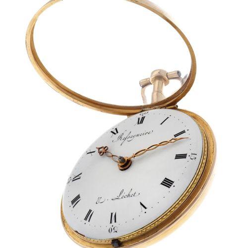Refsegueire & Léchet Verge Fusee Men's pocketwatch apprx. 1780. Boîtier : or jau…