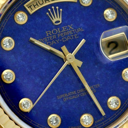 Rolex Day Date 18238 Lapis Lazulli Men's watch 1999. 表壳:黄金(18K) 表带:黄金(18K) 自动上链 …