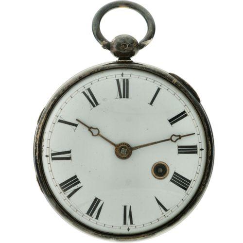 H.J. Byaro, Kentish Town Snek Spillegang Men's pocketwatch apprx. 1750. Boîtier …